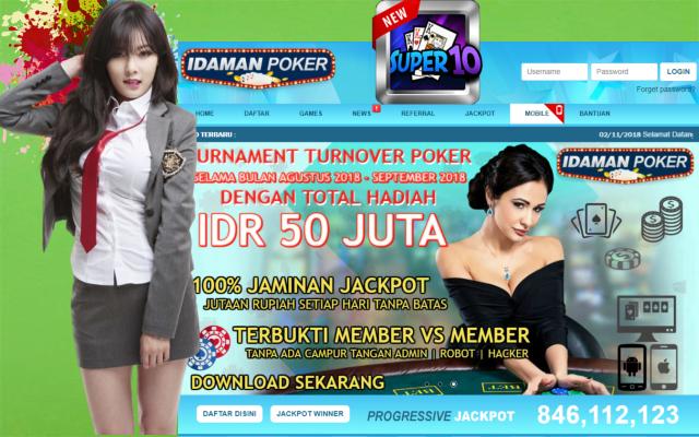 Super10 Idamanpoker